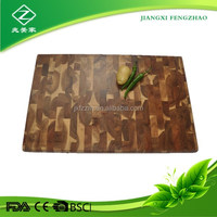 natrual cutting block acacia wood