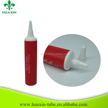 19mm red small asian cosmetic tube