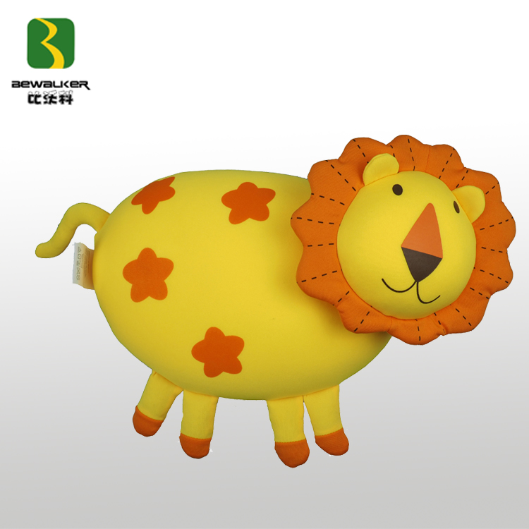 Custom Animal Shape Pillow Lion Pillow For Children Sleeping