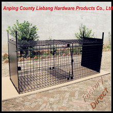 Foldable Large Steel Live Animal Trap Cage Coyote Fox Dog Trap Cage Made in China