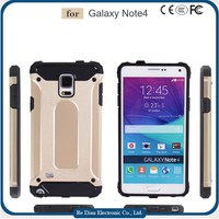 Rugged Anti Gravity Handphone Back Covers Anti Scratch Mobile Phone Cases for Samsung Galaxy Note4