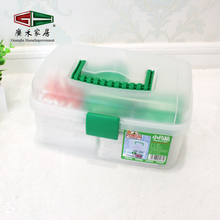 Eco-friendly PP Plastic Home Necessary Portable First Aid Box
