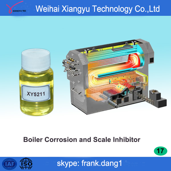 boiler cleaning chemicals supply boiler corrosion and scale inhibitor XY5211