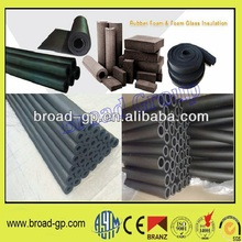 Fireproof nitrile rubber foam thermal insulation isolation tube pipe