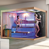 Portable steam sauna,outdoor sauna steam room,steam and sauna for 3 person