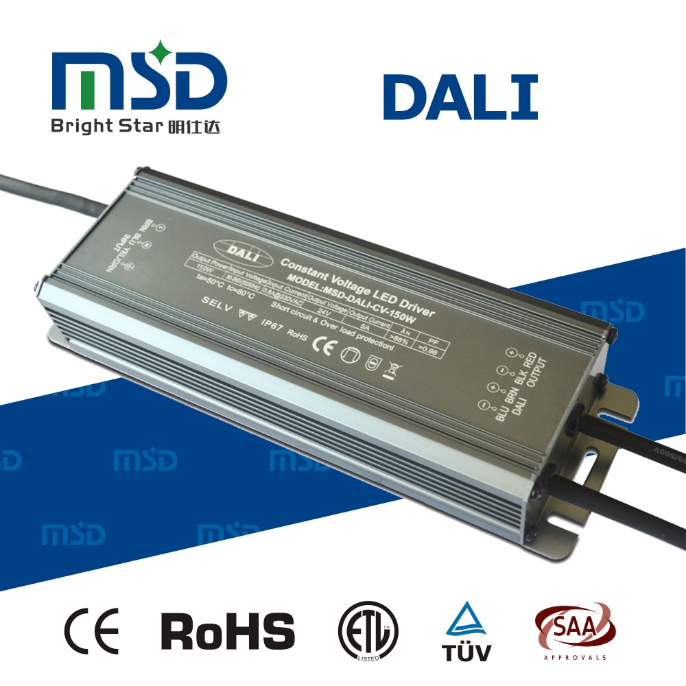 constant voltage dali driver 150W 12500ma 12v dimmable led dali power waterproof transformer