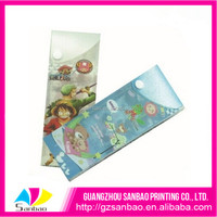 Custom logo printing plastic transparent PP for stationery box