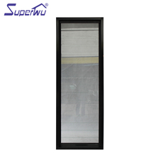 aluminum profile double glazed glass louver window frames cheap price of glass louver