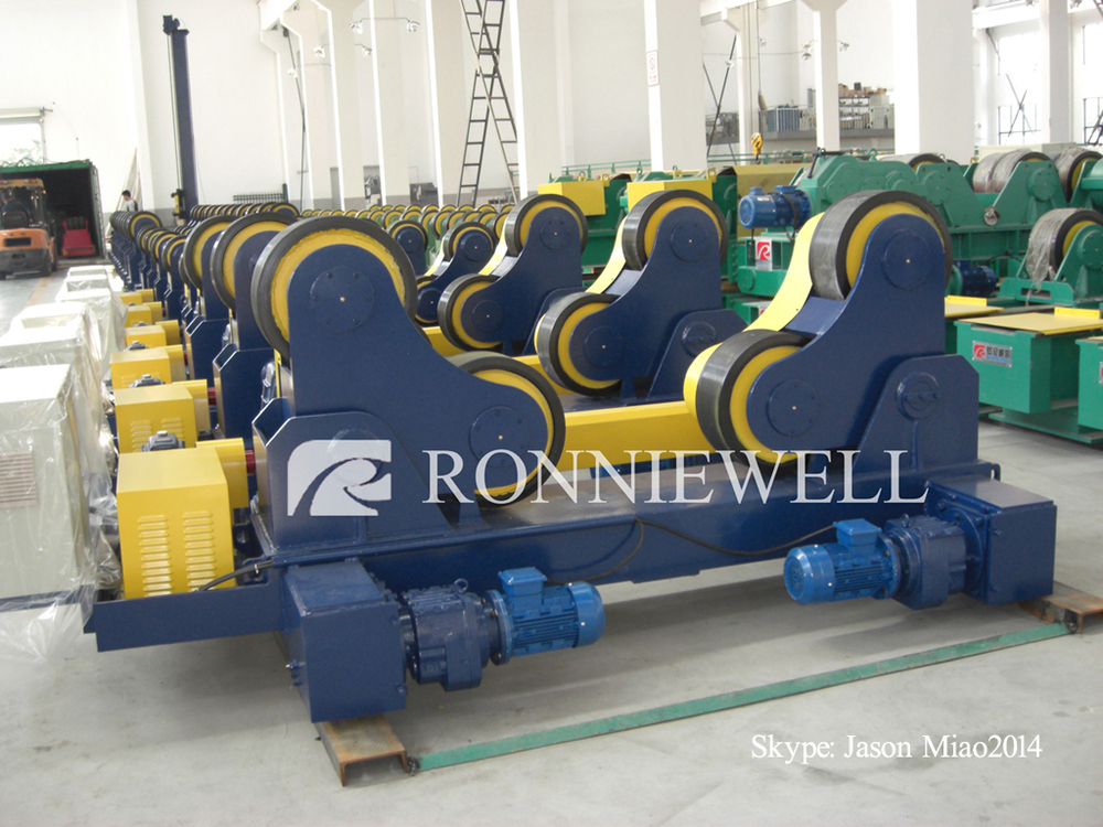 Welding roller / automatic welding roll bed