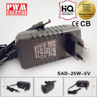 High auality China supplier DC 5V 5A Switch Power Supply Adapter-LED laptop switching power supply