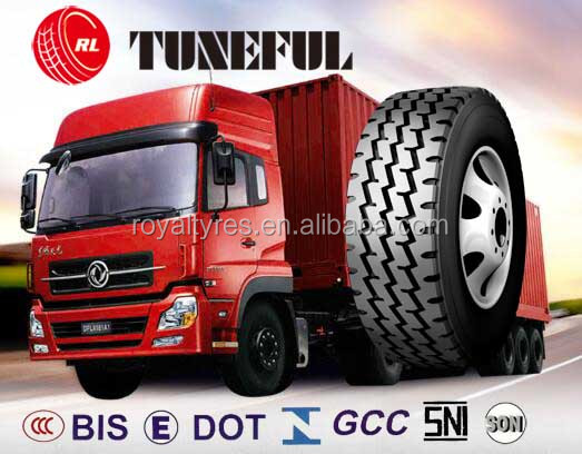 discount tire manufacturers TUNEFUL brand off road tires 13R22.5 truck trailers