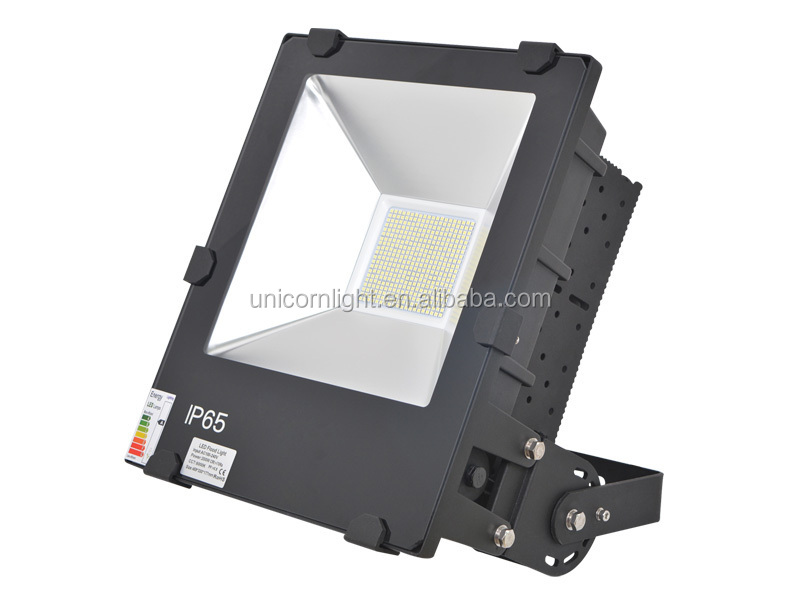 High bright top quality with meanwell driver SMD chip 100lm/w CE ROHS SAA C-tick listed 200w led floodlight