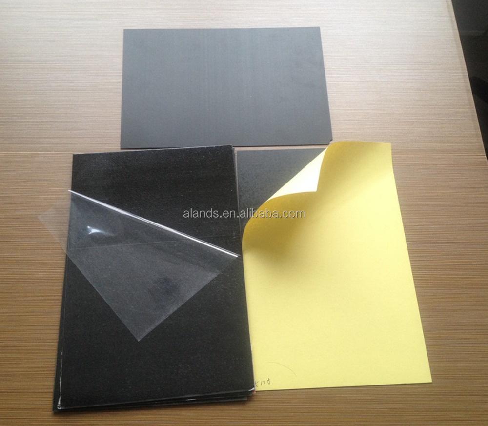 Factory supply 0.5mm self adhesive pvc sheets for photo album