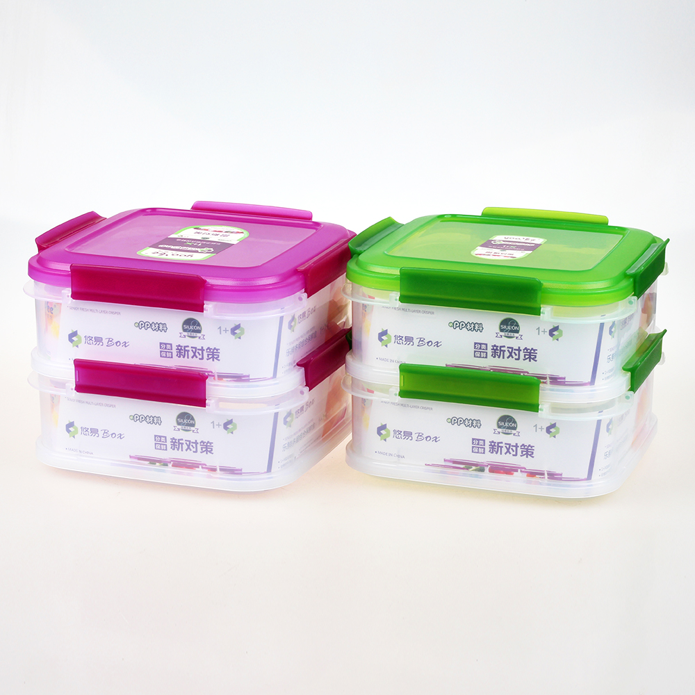 BPA Free PP Plastic Food Storage Containers in Bulk with Lid Manufacturer
