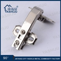 YASHIJU Jieyang High Quality 90 Degree Soft Close Hinge, Concealed Hinge, Corner Hinge