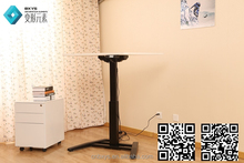 Ergonomic One leg electric adjustable height table for hot sale in USA market