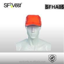 hi vis reflective binding warning safety cap for work