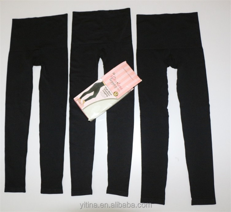 Seamless High Waist Slim & Tone Leggings with built-in invisible shaper