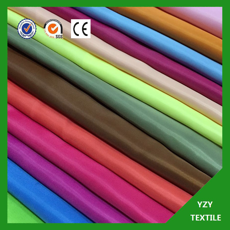 170T 190T 210T polyester taffeta fabric for baggage lining topeta fabric tapeta tafeta
