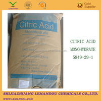 high quality Citric Acid monohydrate with good price from China