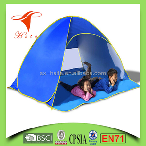 Eco Friendly Kids Set Camping Tent Toy, Beach Tent For Kids