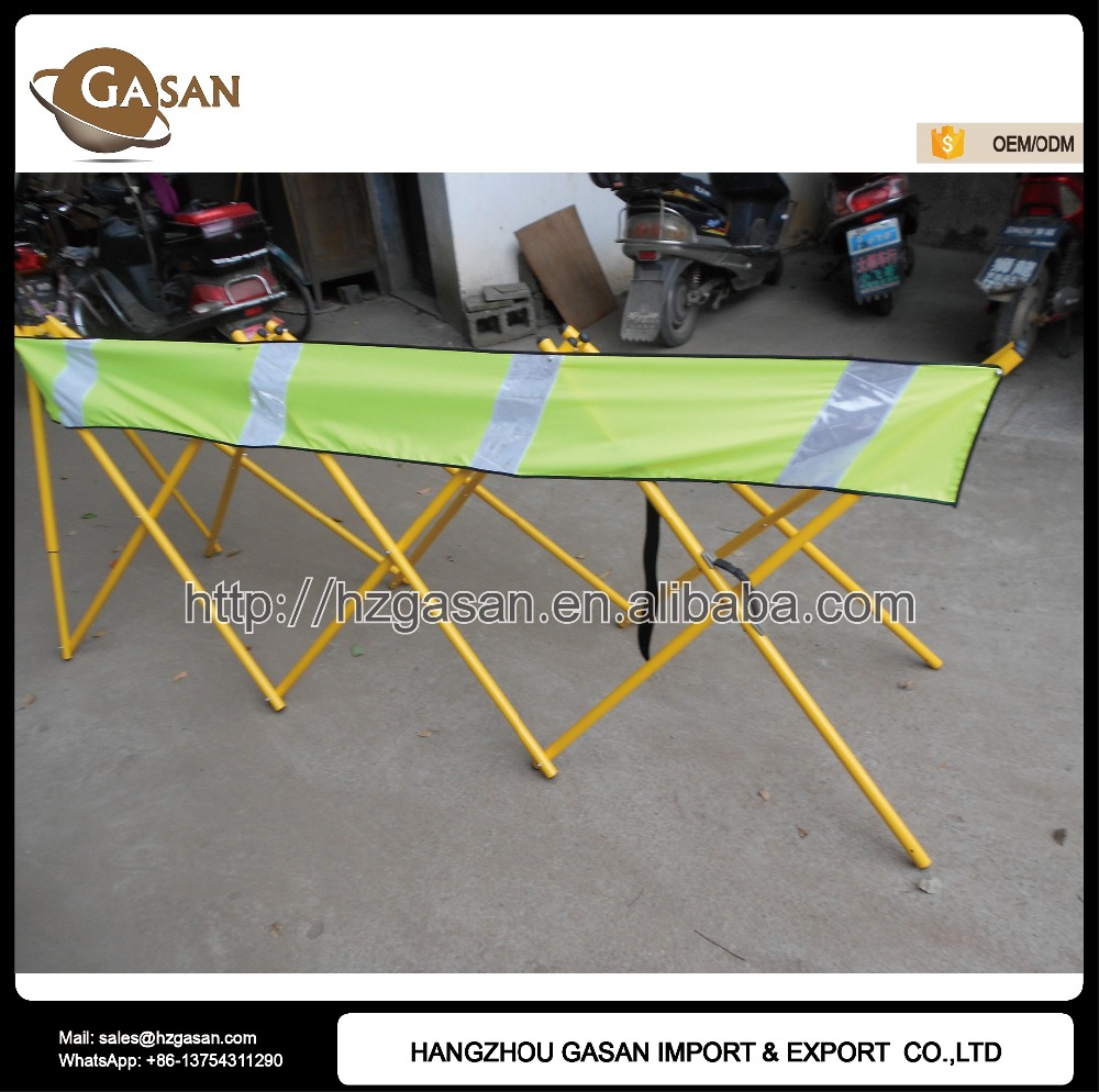 Australia Retractable Strap Safety Barrier With Reflective Tape