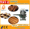 automatic twist cookies machine/ twist filled cookie make machine