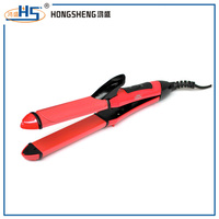 professional hair straightener and curling iron