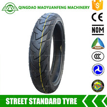 high quality scooter tyre 80 / 90 - 14 motorcycle tyre with innertube or tubeless