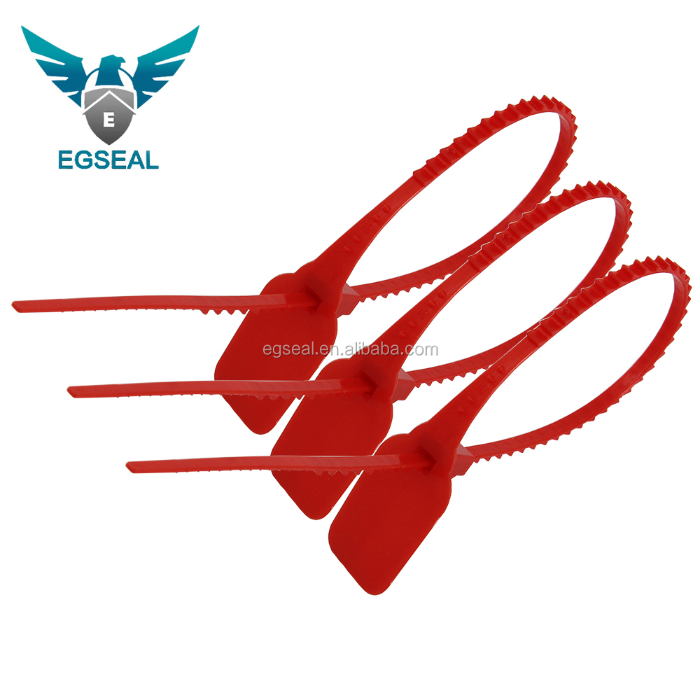Tamper proof pp cable tie plastic lock seal containers lead seal