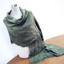 Cheap Alibaba scarves dirty dye acrylic scarf viscose acrylic green striped women scarf manufacturers