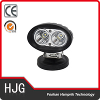 20W High quality Motorcycle work light led light off road,LED truck light
