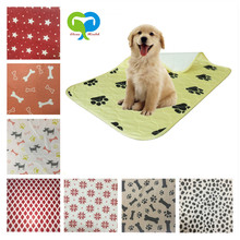 New Printing Waterproof Pet Pee Pad Training Pads Puppy Dog Urine Absorbing Mats PVC Backing