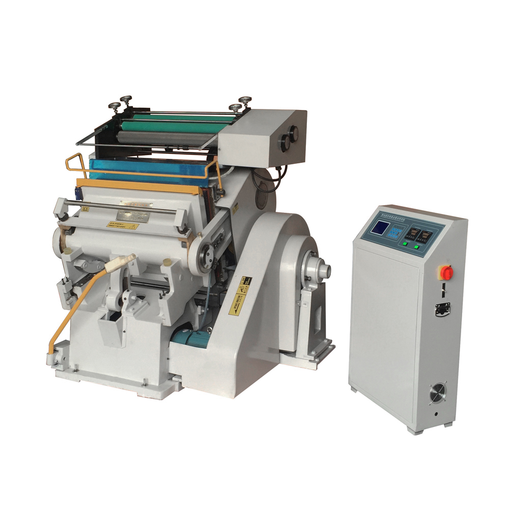 TYMB750 Paper Leather PP PVC Pressing and Hot Foil Stamping Machine