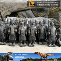 MY Dino-Z868 Waterproof 3D terra cotta warriors miniature Model