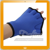 Aquatic Fitness Neoprene Webbed Swim Training Gloves