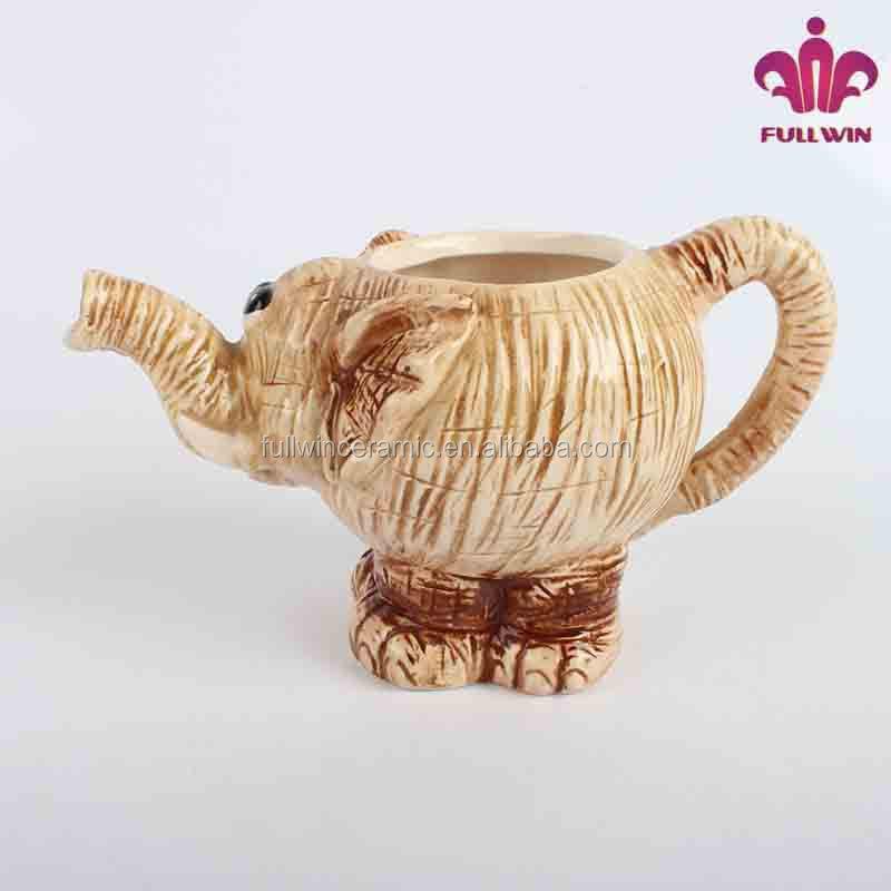 Elephant shape ceramic teapot stand with factory directly buy ceramic teapot stand tea - Elephant shaped teapot ...
