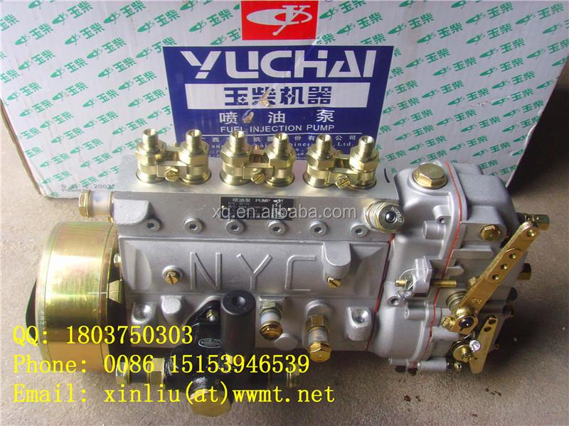 B7606-1111100a-493 Fuel Injection Pump Yuchai Wheel Loader Spare ...