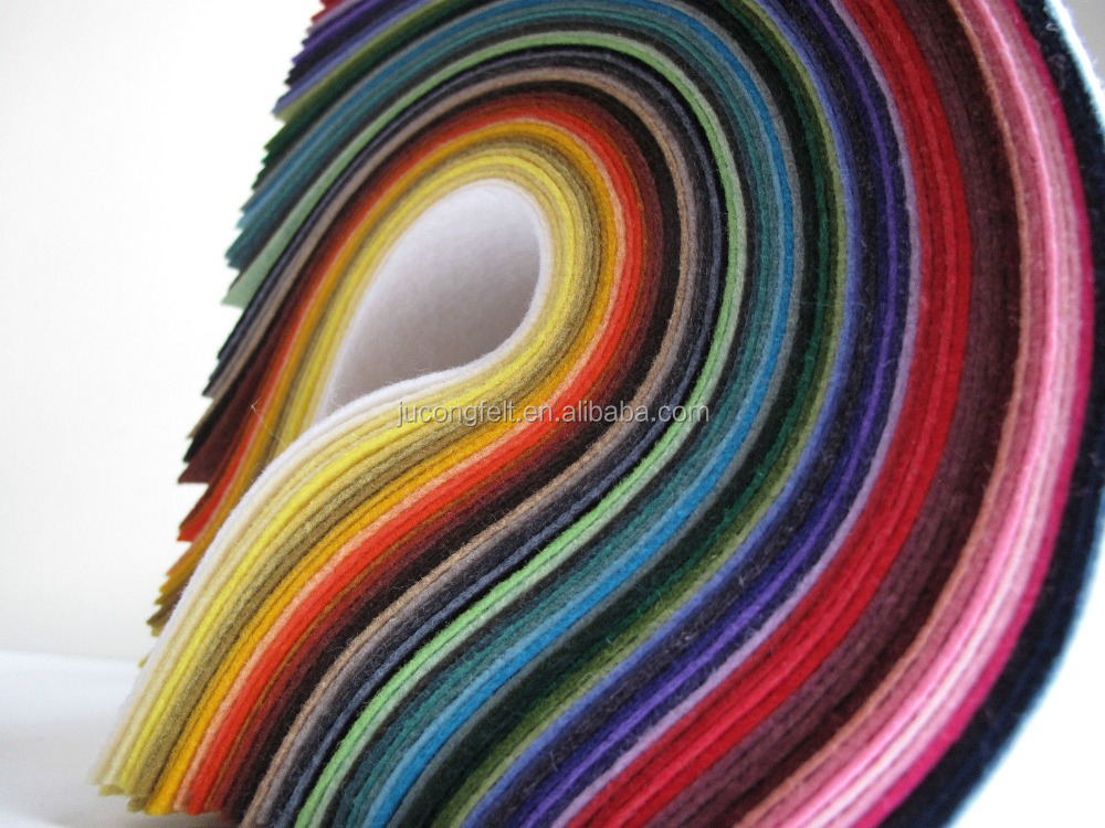 Manufacturer Colored Wool Felt for Industry and Making Industry