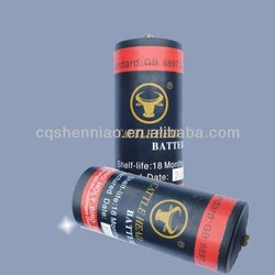 R40 1.5v 120ah emergency power dry cell for disaster area