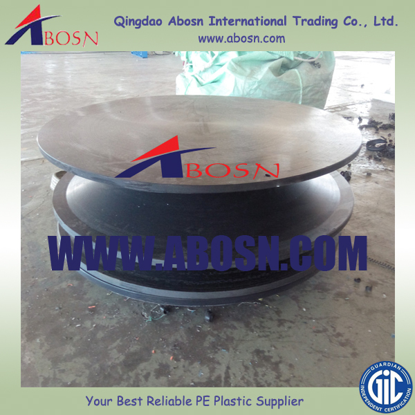Good qualilty Big boracic polythene neutron shielding UHMWPE Round Cover Plate/UHMWPE sheet