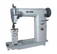 QL-820 double needle post bed sewing machine for corner seaming of leather shoes