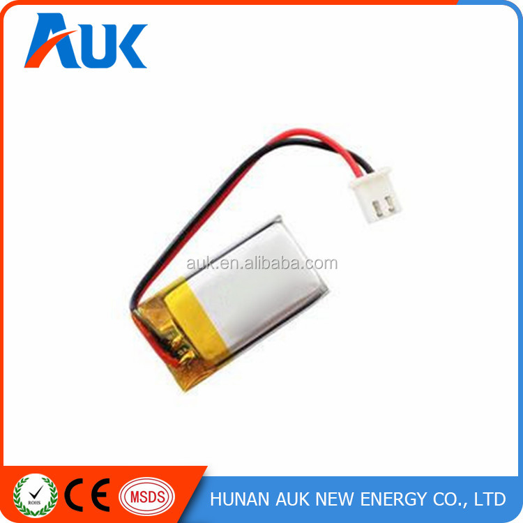 Rechargeable Li-polymer Battery 3.7V 150mAh Used In Electric Torch