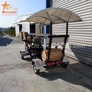 Be Your Own Boss Pedal Pub Party Bikes 15 seat sightseeing tours Beer bike pubcrawler beer bike