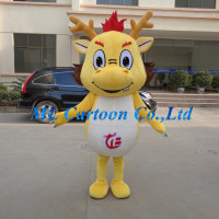 New coming customized china dragon adults mascot costume for sale