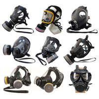 Full Face Gas Mask NBC Gas