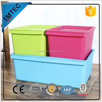 factory price IMTEC solid plastic container for candy retail