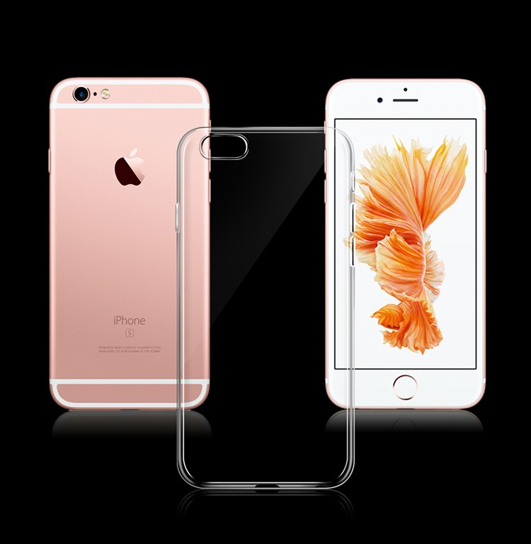 Factory Price Smartphone Accessories, Soft Clear TPU Case For iPhone 6 6s