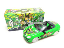2014 Hot Sell BO Free Way Ben10 Car Toy with 8 Lights