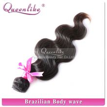 Fast shipping 100% human bundles weave remy hair models women